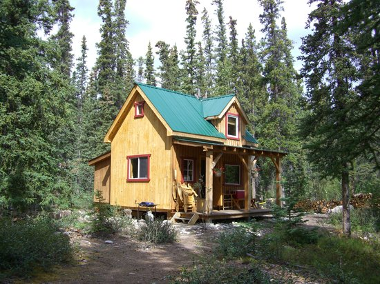 Wheaton River Wilderness Retreat: Das Cabin