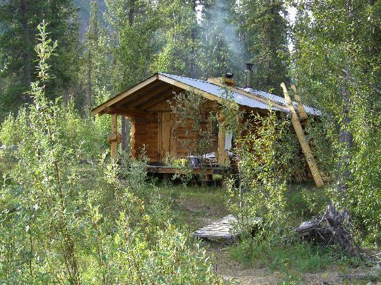 Wheaton River Wilderness Retreat: Die Bad / Sauna Hütte