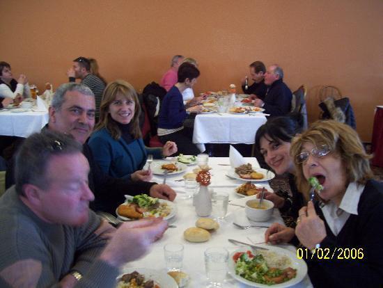 Albion Hotel: la sala da pranzo