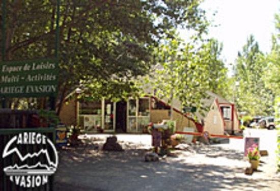 Ariege Evasion: L'entrée du camping