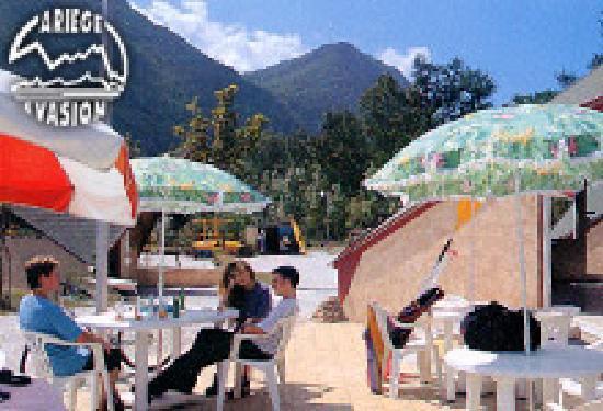 Ariege Evasion: Terrasse du snack