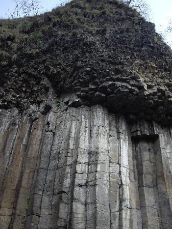 Chambres et Table d'hotes de Margaridou: Les orgues basaltiques de Chilhac