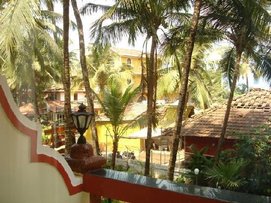 Casa de Cris: balcony view