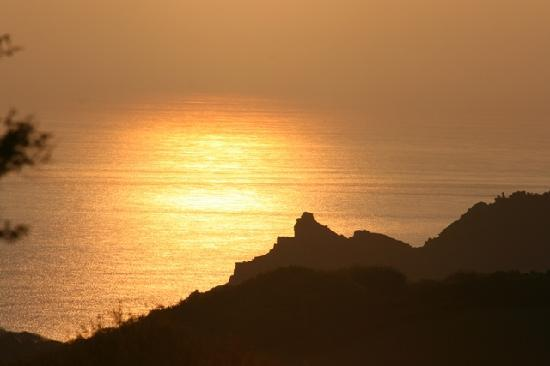 The Old Rectory Hotel: Valley of Rocks at sunrise