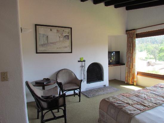 Hotel Avandaro Club de Golf & Spa : el otro lado del cuarto