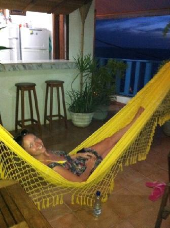 Albergue Pedra da Sereia: quality time in one of the hammocks