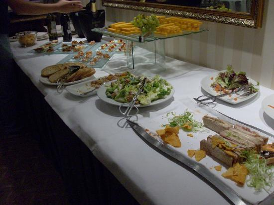 Hors D Oeuvres At The Club Lounge Picture Of Millennium Gloucester