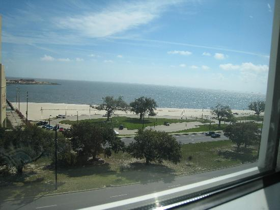 Island View Casino Resort: from the bedroom window!!!