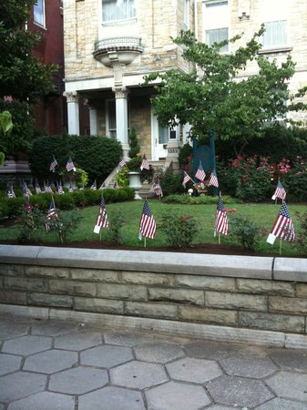 Central Park Bed and Breakfast: Forth of July at Central Park B and B