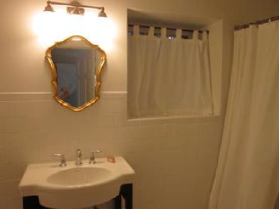 The Landing: Bathroom sink