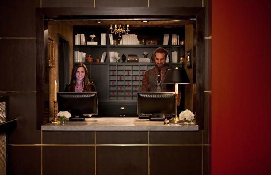 The Redbury Hollywood: The Lovely Front Desk Hosts