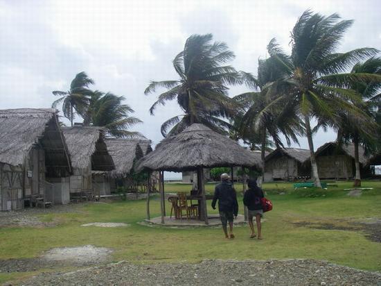 Dolphin Lodge Uaguinega: ホテル敷地内