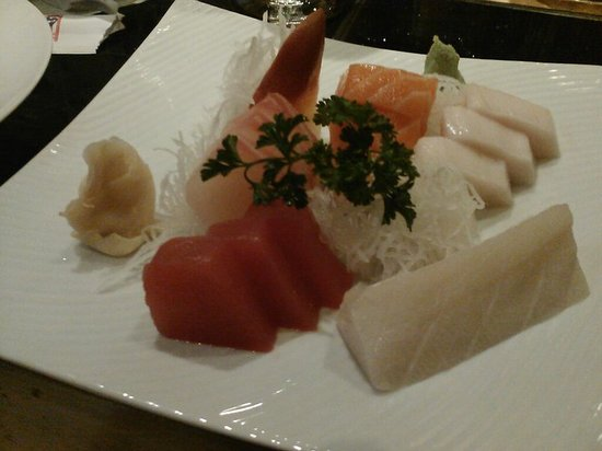 SOYA: Sashimi -- eating light that night.