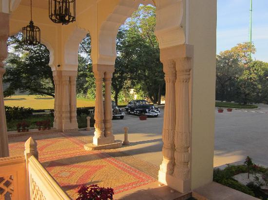 Rambagh Palace: Entrance