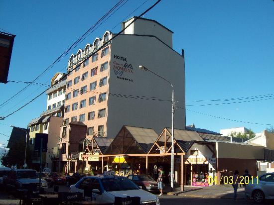 Hotel Crans Montana: vista externa