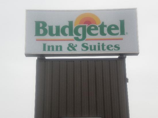 Budgetel Inn & Suites Atlantic City: Sign