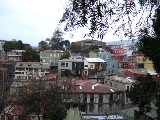 HecTour Service: View of the cool Valparaiso city