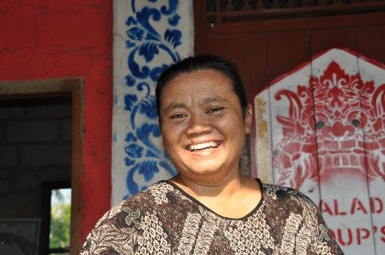 Maria's Boemboe Bali Waroeng: Maria - the owner & Hostess