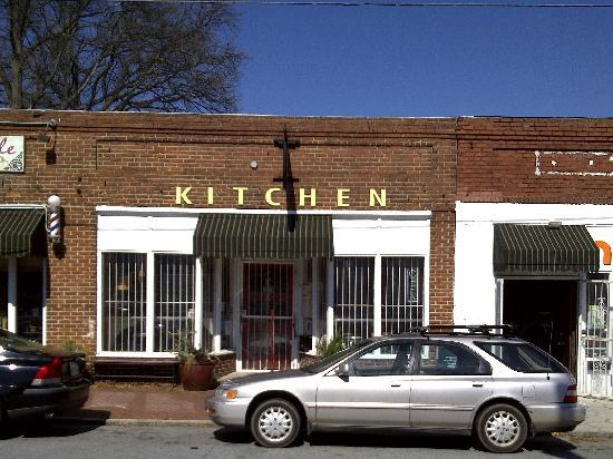 Store Front Picture Of Stone Soup Kitchen Atlanta