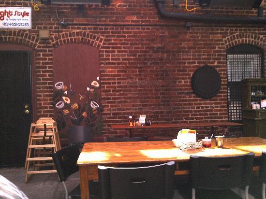Back Patio Picture Of Stone Soup Kitchen Atlanta