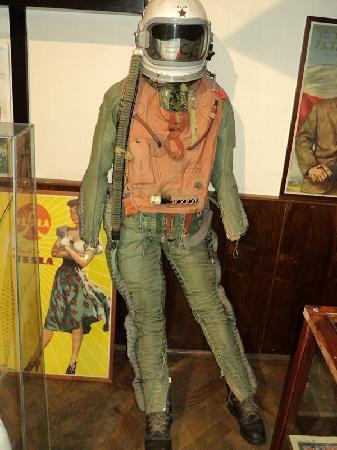Museum of Communism: pilot suit