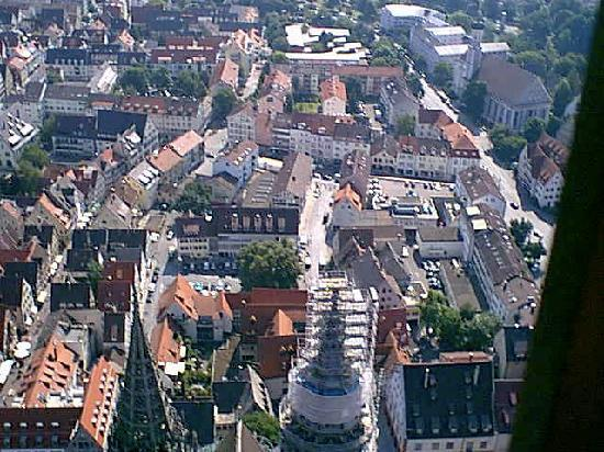 Straatsburg, Frankrijk: View of Strasbourg from the Cathedrale 5