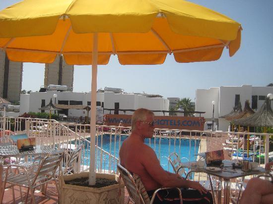 Paradero Hotel: pool area
