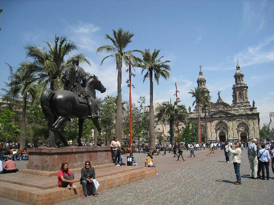 Santiago, Chili: Plaza de Armans
