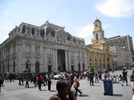Santiago, Chile: Hauptpost