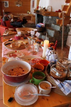 Sport-Lodge Klosters: Breakfast