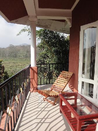 Kerala House: Balcon