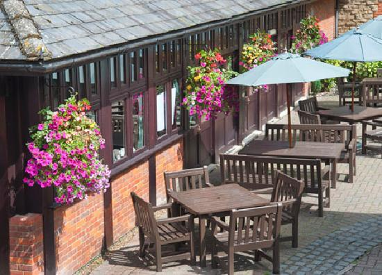 The Cock Hotel: Courtyard