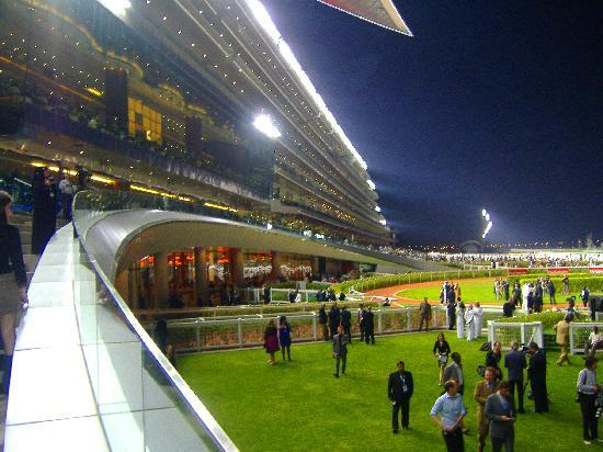Meydan Grandstand Picture Of Meydan Racecourse Dubai