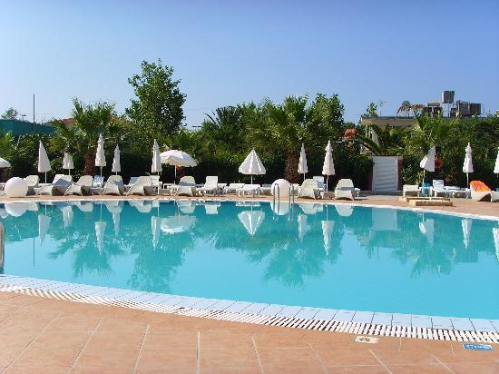 Alexander Hotel: pool before the chaos