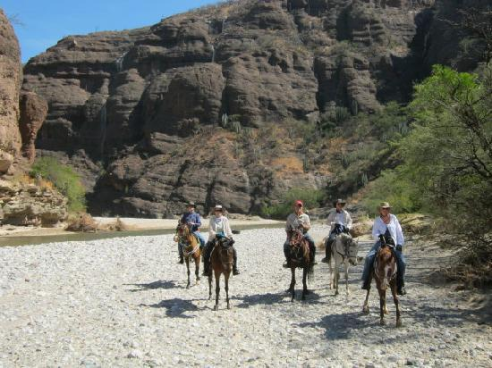 Join a riding expedition in Oaxaca's UNESCO-protected canyon