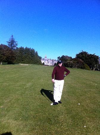 Adare Manor: My husband was in heaven! I drove the cart...