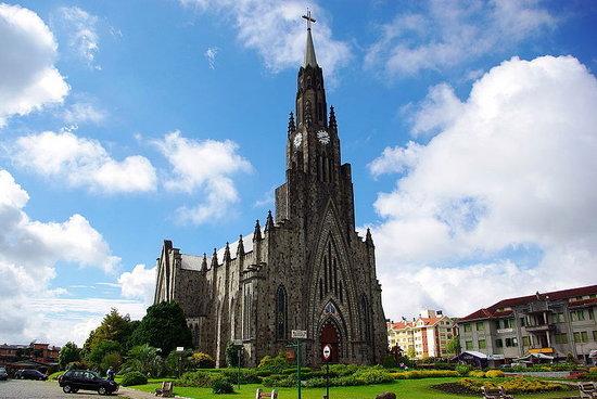 Canela, RS: Catedral de Pedra