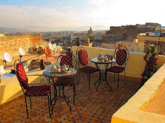 Dar Hafsa : terrace