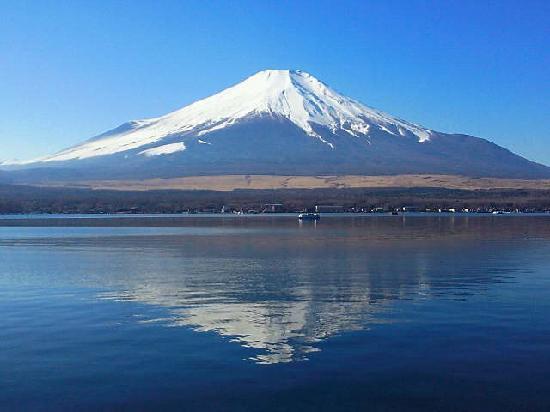 Yamanakako-mura, Japan: 逆さ富士