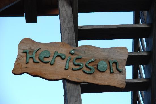 Saint-Julien-Labrousse, Франция: Pancarte Hérison