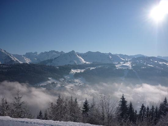 Chalet Le Frene : Midday Views from the Chalet