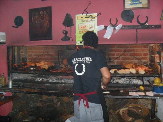 La Pulperia: Cooking