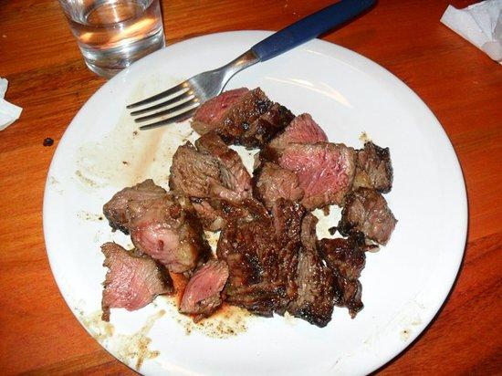 La Pulperia: The steak!