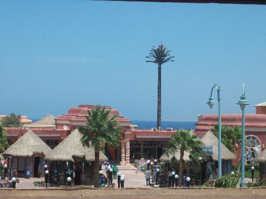 Laguna Vista Garden Resort : Our view at meal times