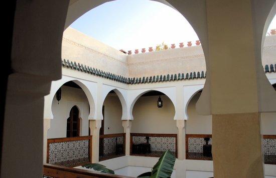 Riad Massaoud: Tres belle vue depuis votre chambre
