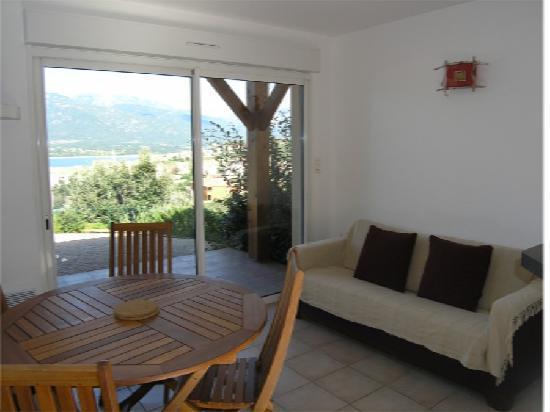 Residence Terra Thea : Salon mini-villa T2
