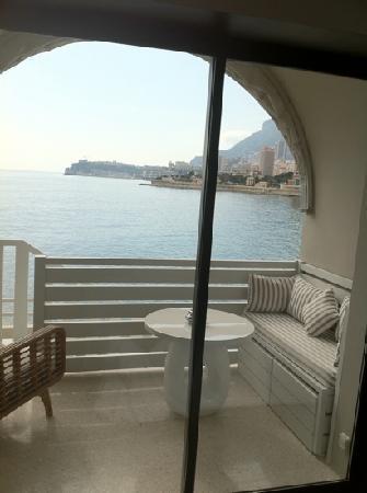 Monte-Carlo Beach: Blick aus dem Zimmer