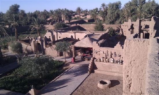 La kasbah Aladin, vue d'ensemble