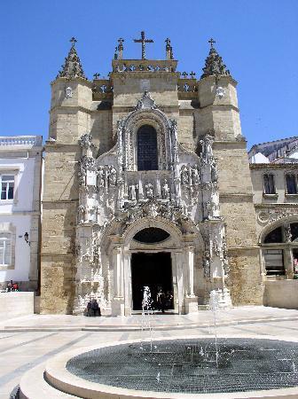 Coimbra, Portugal: Die Kirche Santa Cruz