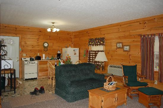 Sunrise Log Cabins: This Cabin was so Cozy!